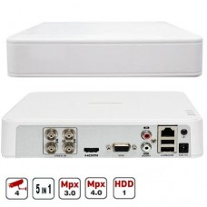 4-х канальный мультиформатный видеорегистратор 3Mp